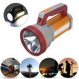3000LM USB Rechargeble Super Bright LED-spot Waterdichte zoeklicht-zaklamp Hiking LED-zaklamp