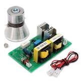 AC220V Power Driver Board + 100W 28KHz Ultrasone Reinigings Transducer Cleaner