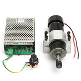 Machifit CNC 500W Spindle Motor ER11 Chuck with 52mm Clamps and Power Supply Speed Governor