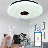 40CM 36W AS102 LED Soffitto musicale RGB lampada APP + telecomando Lavora con Google Home Alexa 220V / 85-265V