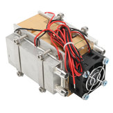 12V 240W Thermoelectric Cooler Peltier Refrigeration Cooling Cooler Fan System Heat Sink Kit