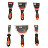 6Pcs Carbon Steel Plastic Handle Specifications Plastering Putty Blade