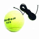 Profesyonel Tenis Topu Yeni Tenis Egzersiz Cihazı İçin Yüksek Elastik Hatlı Tenis Topu