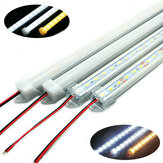 50CM SMD 5730 36 LED Rigid Strip Tube Bar Lichtlamp Met U Aluminium Shell + PC Cover DC12V