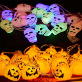 Halloween Ghost Pumpkin Kleurrijke String Lights Garden Binnenplaats Spookhuis Bar Holiday Decoration