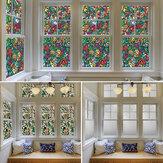 60x100cm曇らされたガラスの窓のフィルムのプライバシーの自己接着ステッカーの寝室の浴室の装飾