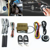 Car Alarm System PKE Keyless Entry Push Button Engine Ignition Start Remote