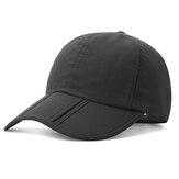 Unisex Quick-drying Baseball Cap Sunshade Casual Outdoors Foldable Cap