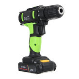 21V Li-ion Electric Screwdriver Rechargeable Electric Charging Power Drill Two Speed 30-45Nm