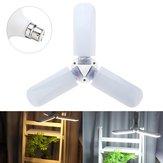 AC95-265V 45W B22 228LED UFO Three-leaf Foldable Indoor Home Adjustable Ceiling Light Bulb
