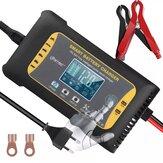 HTRC ™ 12V / 24V 10A/5A 7 estágios Touch Screen Pulse Reparo LCD Bateria Carregador para Lítio LiFePO4 Chumbo-Ácido AGM GEL