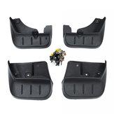 Bavettes garde-boue garde-boue kit garde-boue pour Subaru Forester SH 2008-2012