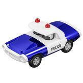 Legering politie trek gegoten auto model speelgoed voor cadeau collectie woondecoratie