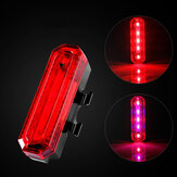 XANES TL17 Bike Bicycle USB Warning Tail Light Waterproof Cycling Scooter Motorcycle E-bike Tailligh