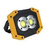 DCL-005820WUSB充電式ワークライトCOBLEDキャンプランタンフラッドライト懐中電灯テントランプスポットライトサーチライトポータブルライト