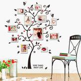 45X60cm casa composição foto parede adesivos árvore de felicidade casa decoração