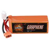URUAV GRAPHENE 6S 22.2V 4000mAh 100C Lipo Battery XT90 Plug for RC Drone