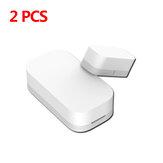 【2 PCS】 Janela da porta da versão Zi-Bee original Aqara Sensor Kit de casa inteligente remoto Eco-sistema de alarme