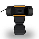 Bakeey 480P Web камера Компьютер камера USB 2.0 Разъем AUX 3,5 мм 300000 пикселей ПК камера Встроенный Микрофон