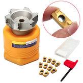 Bap400r-100-32-6t токарный инструмент фреза с 10шт apmt1604pder вставками и T15 ключа