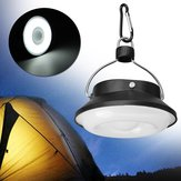 Portable 5W 300LM 28 LED Solar USB Rechargeable Camping Light Lantern Tent Lamp