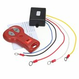 DC 12-24V 433MHz Winch In Out Wireless Remote Control Switch Kit for Jeep ATV SUV Truck Off Road