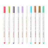10/12/20/30 цветов / набор DIY маркер для фотоальбома Ручка граффити акриловая краска для выделения художественных канцелярских принадлежностей
