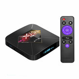 R-TV Box X10 Plus Allwinner H6 4GB RAM 64GB ROM 2.4G WIFI Android 9.0 TV Box