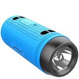 ZEALOT A1 Alto-falante portátil bluetooth ao ar livre Super Bass sem fio mãos livres Power Bank Alto-falante lanterna
