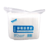100pcs Disposable Electrostatic Dust Removal Papers Home Kitchen Bathroom Cleaning Cloth Dust Removal Mop Replacement Paper