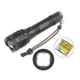 MECO1235XHP703standenRotary Zoom Waterdichte helderheid LED-zaklamp 18650/26650