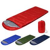 210x75cm 1600G toutes saisons étanche ultraléger compact randonnée Camping sac de couchage unique avec sac de transport couleurs unies sac de couchage léger