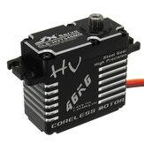 JX CLS-HV7346MG 46KG HV High Precision Steel Gear Digital Coreless Servo