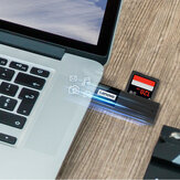 Lenovo D231 2-IN-1 draagbare mini USB 3.0 high-speed TF / SD-adapterkaartlezer voor Macbook Computer PC