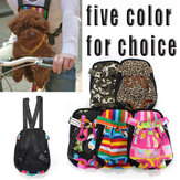 Cotton Segeltuch Doggy Bag Pet Chest Backpack