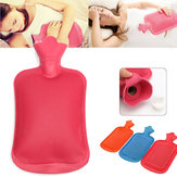 Rubber Hot Water Bottle Bag Hand Warmers Therapy Winter Warm Home Office