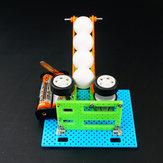 ديي لعبة الكرة الكهربائية روبوت روبوت لعبة تجميعها لعبة للالأطفال