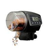 Dijital LCD Otomatik Balık Gıda Besleyici Otomatik Zamanlayıcı Besleyici Pet Akvaryum Tank Gölet