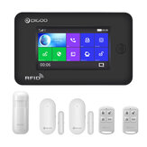 DIGOO DG-HAMA All Touch Screen Alexa Versão 433 MHz 2G e GSM e WIFI DIY Smart Home Security System Kits de alarme