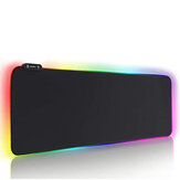ARCHEER Wired USB RGB Gaming Mouse Pad Anti-Slip Rubber Base Computer Keyboard Mouse Pad for PC Laptop