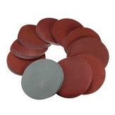 100 قطع 4 بوصة أقراص الرملي 80-3000 الحصباء مزيج ساندر القرص مجموعة 100 ملليمتر الرملي تلميع منصات