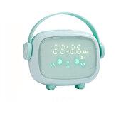 Alarma LED inteligente para niños Reloj Linda alarma de luz nocturna Reloj Alarma de cuenta regresiva de temporización Reloj para regalo de decoración del hogar para niños