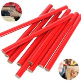 10pcs 175mm Carpenter Pencils for DIY Builders Joiners Woodworking Craft Stationery