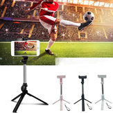 Bakeey Mini Foldable Tripod 2 In 1 Monopod with bluetooth Wireless Remote Selfie Stick