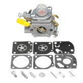 Carburateur + Rebuild Kit voor Homelite Ryobi 25cc String Trimmer Carb 308054003