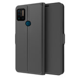 Bakeey for UMIDIGI A7 Pro Etui Bussiness Magnetic Flip with Slot na kartę Składany stojak Odporny na wstrząsy PU Leather Full Body Protective case