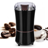 Portable Electric Coffee Grinder Beans Nuts Milling Grinding Machine Black Coffee Machine