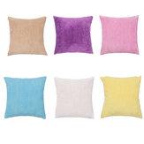 45X45cm Almohada de pana Caso Colorful Funda de cojín Decoraciones de sofá para el hogar