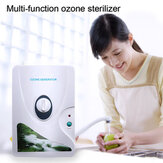 Alta Qualidade 600 mg / h 220 V 110 V Gerador de Ozônio Ozonizador ionizador O3 Temporizadores Purificadores de Ar Óleo Carne Vegetal Fresco Purificar Água Água