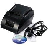 12V USB Mini 58mm POS ESC Thermal Punkt Empfangs Drucker Set 384 Linie mit Rollenpapier